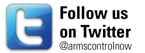 Follow armscontrolnow on Twitter