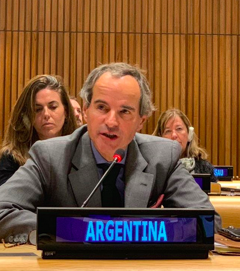 2020 Review Conference President-Designate Rafael Grossi addresses the conclusion of the 2019 NPT PrepCom.