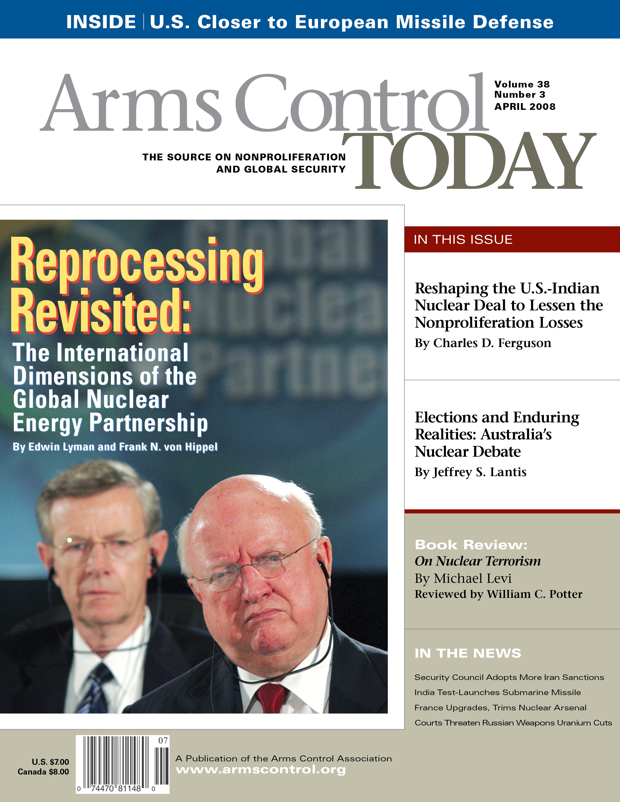 April 2008 Arms Control Association Cmd Concentrace Trace Mineral 4000 Drops