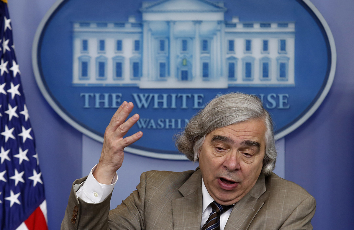 In a December 2015 letter to the Obama White House, then-Energy Secretary Ernest Moniz said substantially more money would be needed in future years to meet anticipated weapons program shortfalls. (Photo credit: Yuri Gripas/AFP/Getty Images)