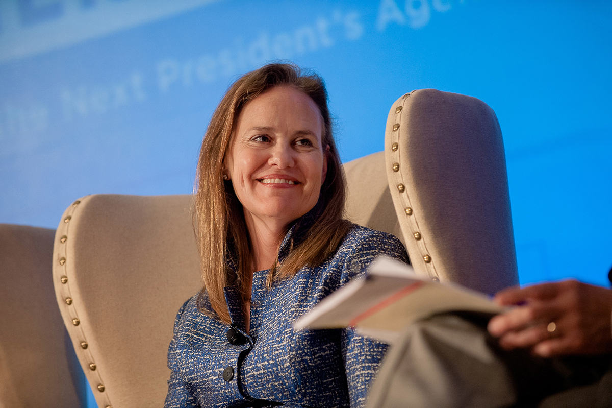 Michèle Flournoy (Photo credit: Erin Scott/Erin Scott Photography)